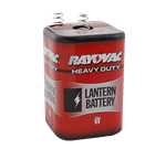 FMP 253-1263 Rayovac Heavy-Duty Lantern Battery Mercury-free  safe for the environment
