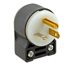 FMP 253-1455 Angle Plug 20 amp at 125V rating