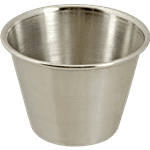 FMP 257-1068 Sauce Cup by Browne Foodservice Stainless steel  2-1/2 oz