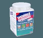 FMP 280-1176 Wobble Wedge Tapered Installation Shim Jar of 300 Translucent hard nylon wedges