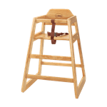 FMP 280-1311 High Chair Natural finish
