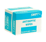 FMP 280-1534 Antiseptic Skin Wipes Box of 20