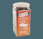 FMP 280-1635 Wobble Wedge Tapered Installation Shim Jar of 75 Flexible soft vinyl black wedges