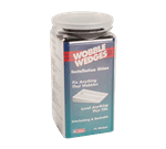 FMP 280-1636 Wobble Wedge Tapered Installation Shim Jar of 75 Hard black polypropylene wedges