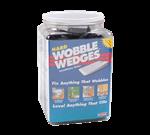 FMP 280-1710 Wobble Wedge Tapered Installation Shim Jar of 300 Hard black polypropylene wedges