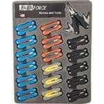 FMP 280-2279 Accusharp ParaForce Multi-Tools Case of 18  assorted colors