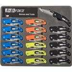 FMP 280-2280 Accusharp ParaForce Pocket Knives Case of 18  assorted colors