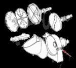 FMP 282-1014 Latch Bolt