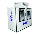 Fogel USA ICB-2-L-GL Indoor Ice Merchandiser