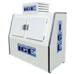 Fogel USA ICB-2-SLANT Ice Merchandiser