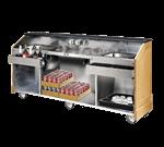 FWE / Food Warming Equipment Co., Inc. ES-CB-8-BW Executive Series Portable Bar