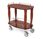 Geneva 70010 Serving Cart-Bordeaux