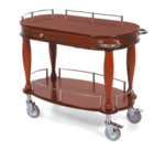 Geneva 70011 Serving Cart-Bordeaux