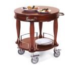Geneva 70029 Serving Cart-Bordeaux