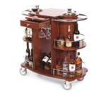 Geneva 70260 Wine/Liquor Cart-Bordeaux