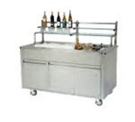 Geneva 79864 Wilson Portable Back Bar