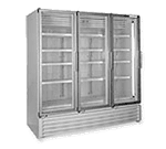 Global Refrigeration ULG80BC Triple Glass Door Vertical Low Temperature