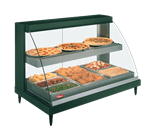Hatco GRCDH-3PD-120-QS (QUICK SHIP MODEL) Glo-Ray Designer Heated Display Case with Humidity