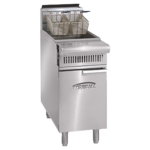 Imperial IHR-F-DS Diamond Series Heavy Duty Range Match Fryer Drain