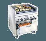 Imperial IR-48ABR-SC-XB Restaurant Series Sizzle 'N Chill Range