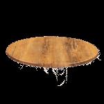 JMC Furniture 24 ROUND ATACAMA CHERRY Topalit Table Top