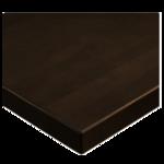 JMC Furniture 24 ROUND BEECHWOOD PLANK DARK WALNUT Table Top