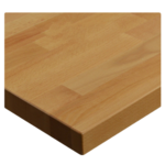 JMC Furniture 24 ROUND BEECHWOOD PLANK NATURAL Table Top