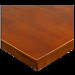 JMC Furniture 24 ROUND BEECHWOOD PLANK WALNUT Table Top