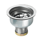 Krowne Metal 23-130 Krowne Long Shank Stainless Steel Sink Strainer