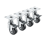 Krowne Metal 28-114S Krowne Adjustable Height Plate Caster