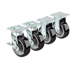 Krowne Metal 28-180S Krowne Extra Heavy Duty Large Plate Caster