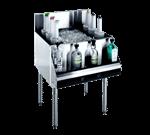 Krowne Metal KR21-30DP Royal 2100 Series Underbar Ice Bin/Cocktail Unit