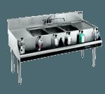 Krowne Metal KR21-83C Royal 2100 Series Underbar Sink Unit