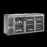 Krowne Metal NS72L Narrow Door Refrigerated Back Bar Storage Cabinet