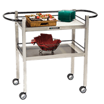 Lakeside Manufacturing 1309 Dining Room Utility Cart