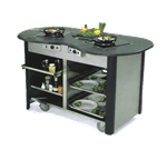 "Lakeside Manufacturing 307010 Creation Station"" Mobile Cooking Cart"