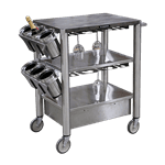 Lakeside Manufacturing 509 Wine Cart