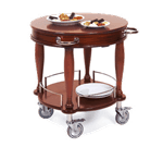 Lakeside Manufacturing 70029 Serving Cart-Bordeaux