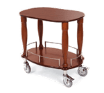 Lakeside Manufacturing 70030 Gueridon Cart-Bordeaux