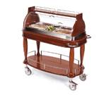 Lakeside Manufacturing 70160 Appetizer Cart-Bordeaux