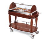 Lakeside Manufacturing 70162 Appetizer Cart-Bordeaux