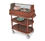 Lakeside Manufacturing 70355 Pastry Cart-Spice