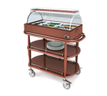 Lakeside Manufacturing 70375 Hot Meal Cart-Spice