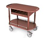Lakeside Manufacturing 70458 Gueridon Spice Cart
