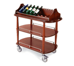 Lakeside Manufacturing 70516 Wine Cart-Spice