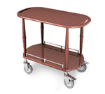 Lakeside Manufacturing 70524 Serving Cart-Spice