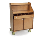 Lakeside Manufacturing 73565 Mobile Wait Stand-Blonde
