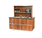 Lakeside Manufacturing 79859 Bristol Portable Back Bar