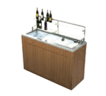 Lakeside Manufacturing 79862 Chalet Portable Back Bar