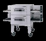 "Lincoln Impinger 1600-FB2E Lincoln Impinger Low Profile"" Conveyor Pizza Oven"